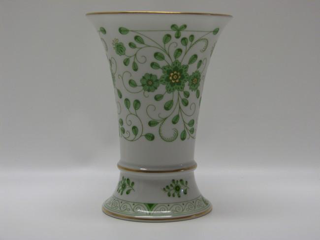 Milchkännchen H 10,7 cm Lindner Porzellan Marie-Luise 1150 Alte Ranke Grün