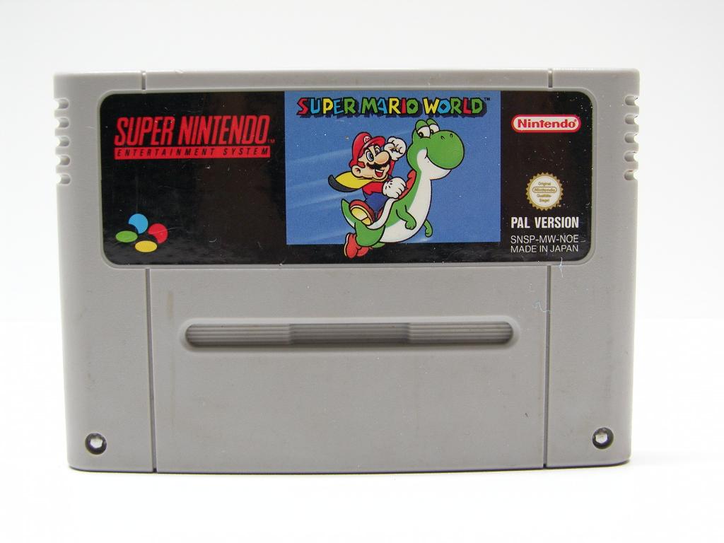 Super Nintendo SNES Spiel Super Mario World