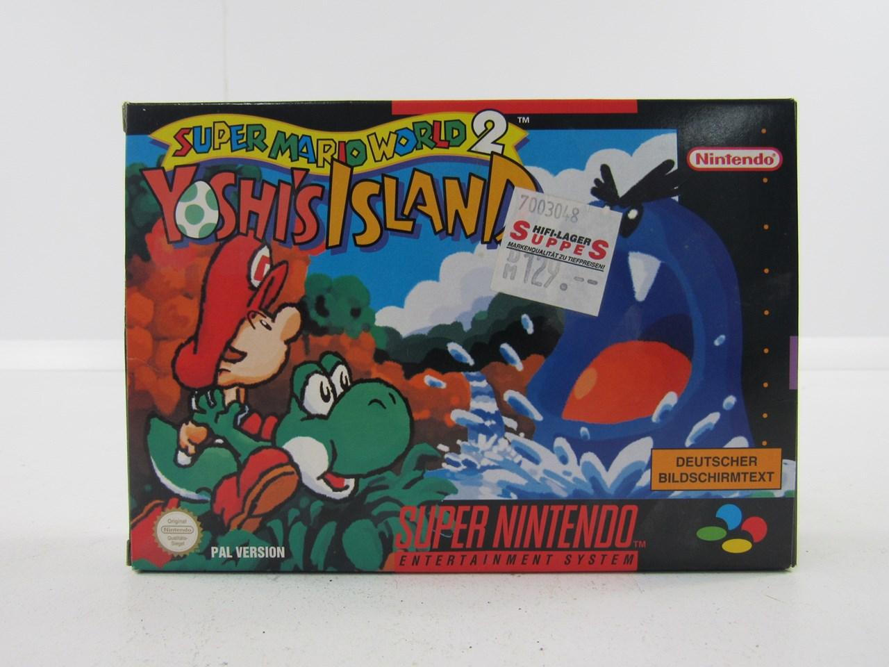 Super Nintendo Super Mario World 2 Yoshis Island Online Kaufen