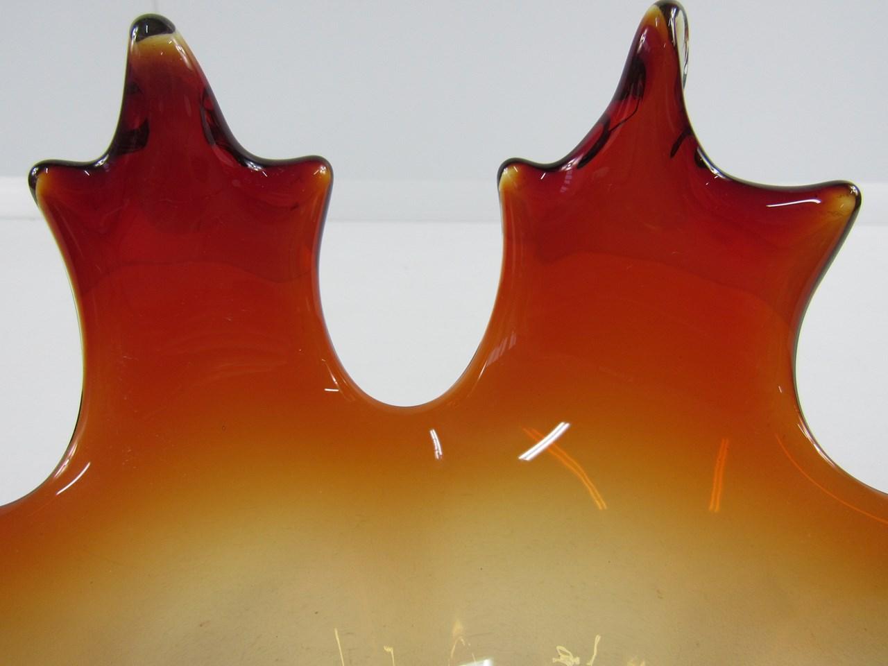 Murano Rot ~ Murano glas vase antares schwarz rot edition murano glas