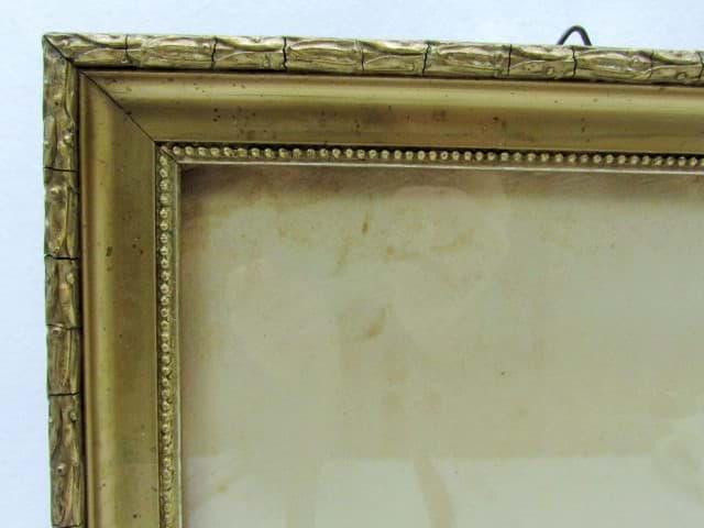Antiker Glas Bilderrahmen um 1900 ★ sofort kaufen bei uns ...